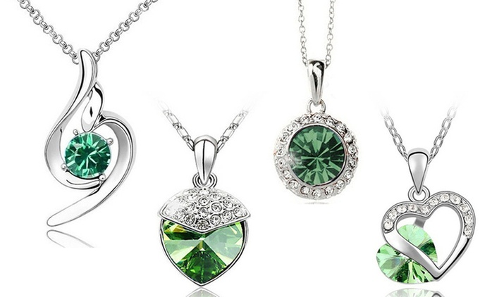Christmas-Inspired Jewellery Made with Crystals from Swarovski® for €9.99 (44% Off)