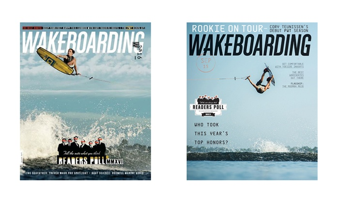 1-Year 8-Issue Subscription to Wakeboarding Magazine