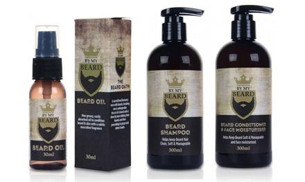 Shampoing, crème ou huile hydratante pour la barbe et le visage By My Beard