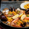 Seafood & Chicken Paella + Drink