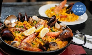 Casa Asturiana: Seafood and Chicken Paella with Soft Drink for One ($17), Two ($33) or Four ($65) at Casa Asturiana (Up to $128 Value)