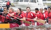Dragon Zone Paddling Club - Creekside Community Centre: Intro to Dragon Boating at Dragon Zone Paddling Club (Up to 50% Off). Three Options Available.