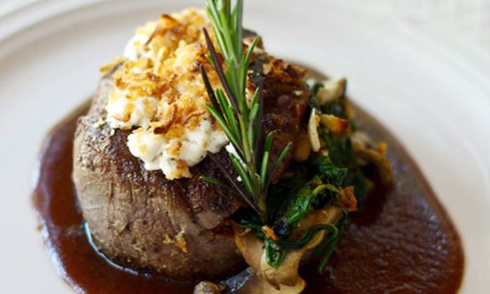 Prime - Delray Beach: Prime Steak, Sushi, and Seafood for a Table of Two or Four or More at Prime (Half Off)