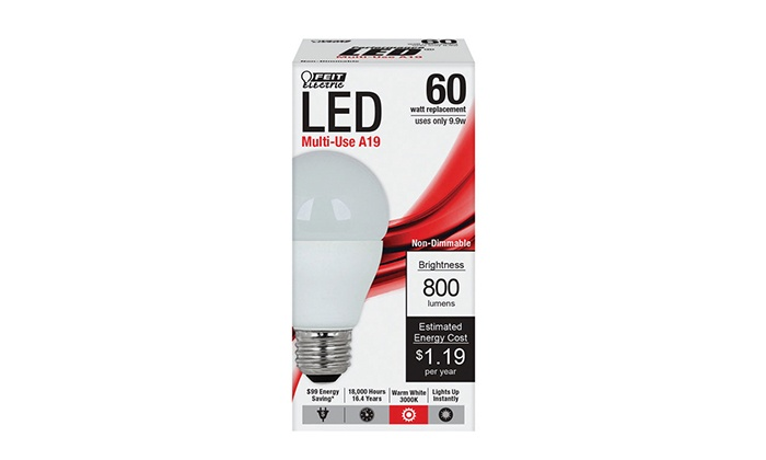 Weiss Ace Hardware - IN-STORE PICKUP: $4.99 for Long-lasting 60-Watt LED Light Bulb with In-Store Pickup at Weiss Ace Hardware ($16.99 Value)