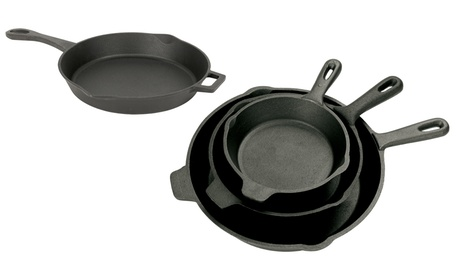 Bayou Classic Cast Iron Skillets