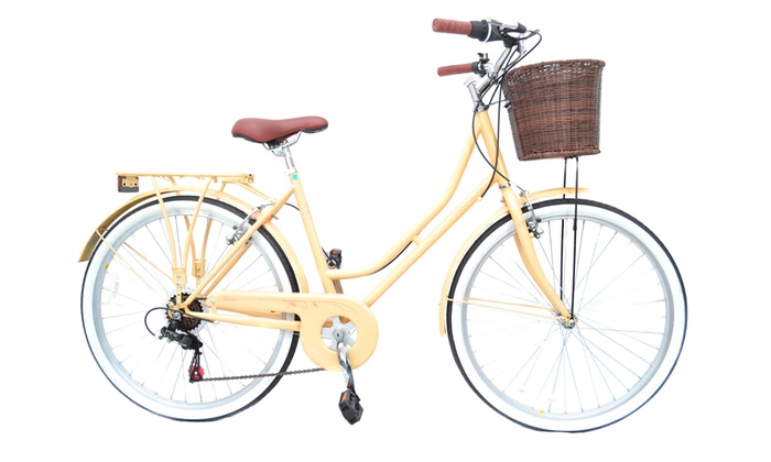 Reflex Heritage City Bikes with BasketWith Free Delivery for £134.99