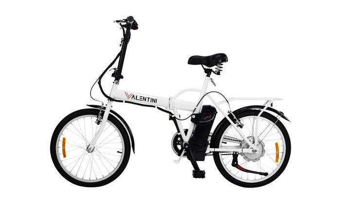 Bicicletta Elettrica Pieghevole Groupon Goods