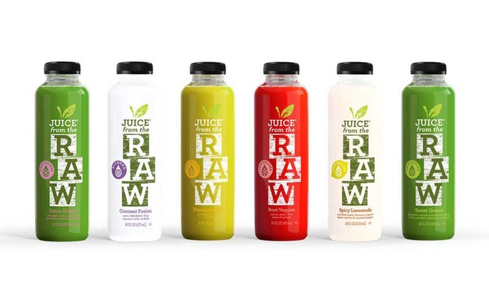 Three-Day Cold-Pressed Juice Cleanse for One or Two People from Juice from the Raw