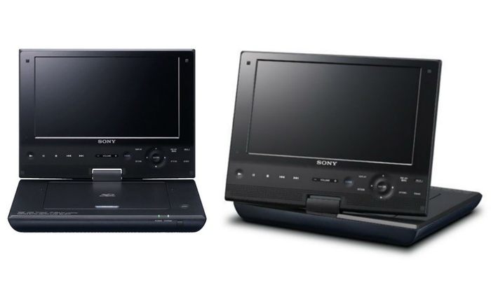 sony portable blu ray player groupon. Black Bedroom Furniture Sets. Home Design Ideas