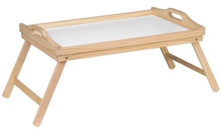 Premier Housewares Pinewood Bed Tray