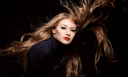Cut and Blow-Dry with Conditioning Treatment or Full Head of Colour at Manor Studio