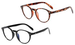 1, 2 ou 4 paires de lunettes anti-lumière bleue