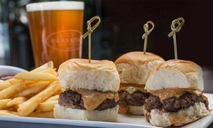 The Brass Tap: Pub Food for Lunch or Dinner for Two at The Brass Tap (40% Off)