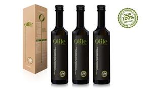Life Nutraceutica: 3 o 6 bottiglie di olio nutraceutico Olife da 500 ml (sconto fino a 53%). Gusto e salute in tavola