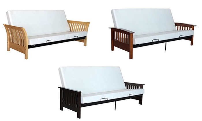 Slated Tilt Down Sofa Bed Groupon