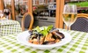 Amarcord Italian Restaurant - Bloomsbury: Two- or Three-Course Italian Meal with Prosecco for Two at Amarcord (Up to 50% Off)