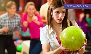 KANGAROO'S LAND: 2 Std. Bowling inkl. Schnitzelplatte für 4 oder 6 Personen im Kangaroo's Land (Bis zu 67% sparen*)