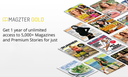 $29.99 Months of Unlimited Online Magazines from Magzter Don't pay $99.99