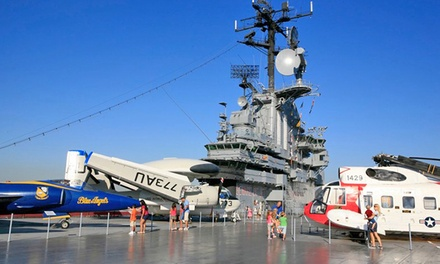 $110 for a One-Year Family Membership at Intrepid Sea, Air & Space Museum ($200 Value)