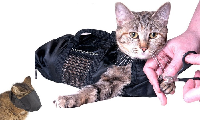 2be9c33504d Cat Grooming Restraint Bag | Groupon Goods