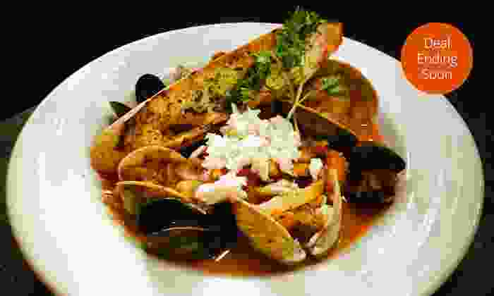 Bistro Ten 18 - Upper West Side: $39.50 for an Upscale American Dinner for Two at Bistro Ten 18 (Up to $85 Value)