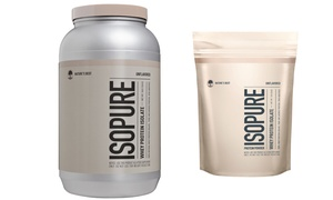 ISOPURE Zero Carb Unflavored Whey Protein Powder (1 or 3 Lb.)
