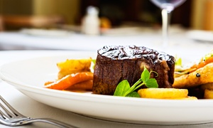 Black Boys Inn: Steak Meal with a Bottle of Wine for Two or Four at Black Boys Inn (Up to 62% Off)