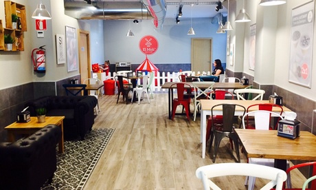 Brunch para 2 o 4 personas desde 14,90 € en 6 locales El Molí Pan y Café Rambla