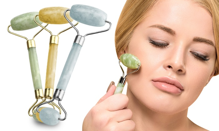 One or Two Jade Face Massage Rollers