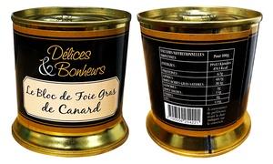 Blocs Foie Gras 100% Canard de Sarlat