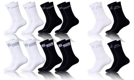 Juego de 12 pares de calcetines deportivos Kappa