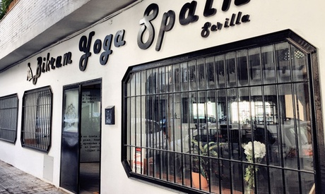 10 clases de bikram yoga en horario de mañana o tarde desde 39,95 € en Bikram Yoga Spain Sevilla Oferta en Groupon