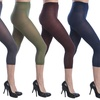 Women's Opaque Capri Footless Tights (6-Pack)