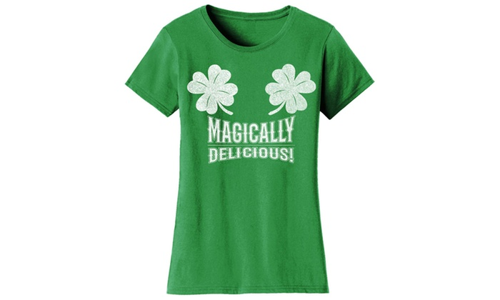 f4ff8b405 Women's Funny Irish St. Patrick's Day T-Shirts. Plus Sizes Available.