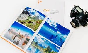 Copicentro: Desde $389 por un fotolibro de 21x30 cm de 30 o 50 páginas con personalización de tapa en Copicentro
