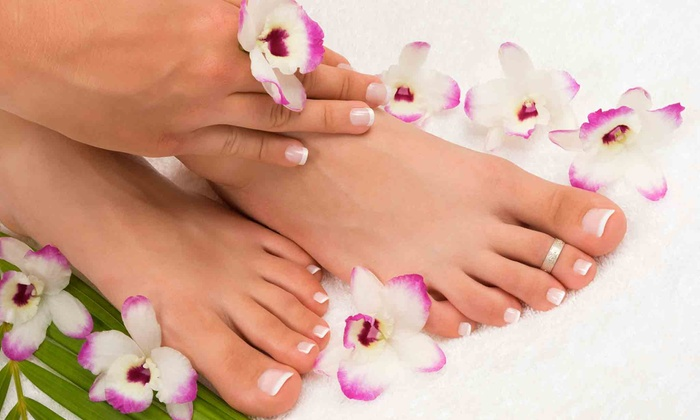 Artistic Nails by Sheila - Sioux Falls: One or Two Shellac Mani-Pedis at Artistic Nails by Sheila (Up to 57% Off)