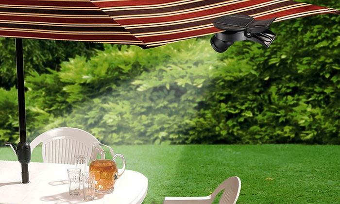 CLIPON Solar Portable Patio Umbrella Light ... - Portable Patio Umbrella Light Groupon Goods
