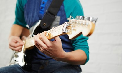 Three Private 45-Minute Guitar Lessons at Rhythm Room (72% Off)