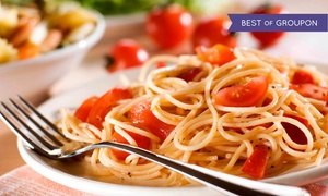 Gumba's Italian Restaurant & Pizzeria: Italian Meal and House Wine for Two or Four at Gumba's Italian Restaurant & Pizzeria (Up to 47% Off)