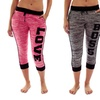 Coco Limon Women's Heathered Jogger Pants (3-Pack)