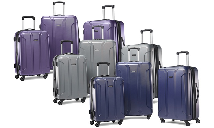 a25911c21 American Tourister Expandable Hardside Spinner Luggage Set (3-Piece)