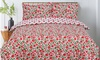 Poppy Floral Reversible Duvet Set