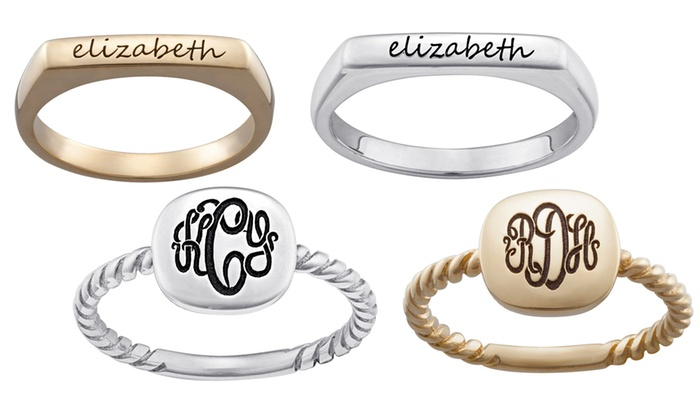 Limogés Jewelry: Personalized Stackable Rings (Up to 60% Off)