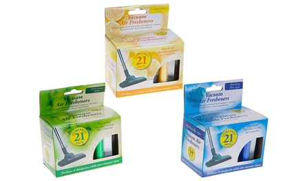 One, Two or Three Packs of Vacuum Cleaner Air Fresheners