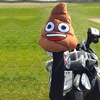 Official Emoji Poop Golf Set