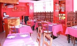 Restaurant Le Rajustant: Spécialités indiennes avec Entrée, plat et dessert pour 2ou 4 personnes dès 32,50 € au Restaurant Le Rajustant