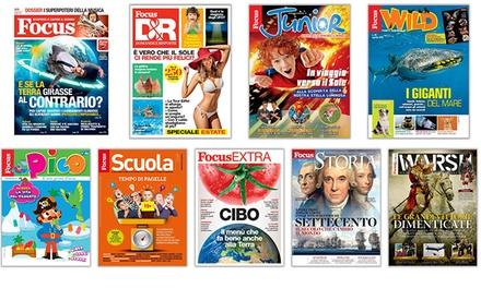 Abbonamento Focus Mondadori a 29,90euro