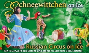 """Agenda Production: 2 Karten für die Neuinszenierung """"Schneewitchen on Ice"""" am 26. Dezember im Musical Theater Bremen (bis zu 34% sparen)"""