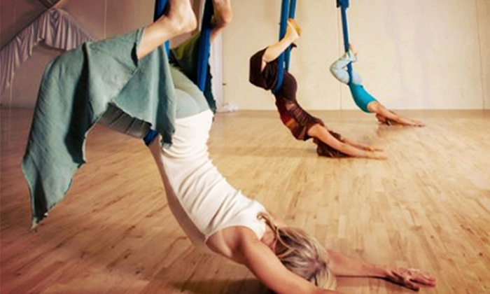 Santa Cruz Aerial Playground - Westside: Three or Five Aerial-Arts, Yoga, Pole, and Pilates Fitness Classes at Santa Cruz Aerial Playground (Up to 56% Off)
