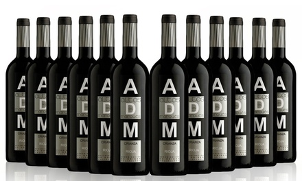 6 or 12 Bottles of San Jamon ADM Crianza Rioja Official Institutional Wine